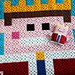 Little King- Pixelplaid pattern