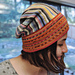 Sideways Short row Slouchy Hat pattern
