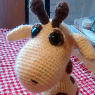 Monty the Giraffe Crochet stuffie CUSTOM COLOR by LoveDincy ... | 320x320