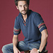 070-T11-632 #33 Le Pull Homme pattern