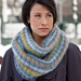 Giselle Striped Cowl pattern