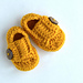 Little Man Button Loafers pattern