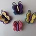 Crocheted Butterfly Accessory pattern