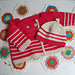 Chibi Striped Baby Jacket pattern