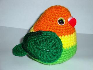 Baby Accessories Lovebirds Free Crochet Amigurumi Pattern... | 240x320