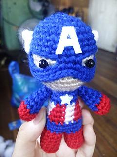 3 Character (Iron Man ,Loki ,Captain America) | Marvel | CROCHET ... | 320x240