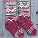 s30-12 Visby Socks pattern