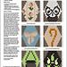 Hexipuff Charts: Tiny-Owl-Knits-Inspired 3 pattern