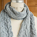 'Following Seas' Cabled Scarf pattern