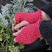 Daisy Stitch Fingerless Gloves pattern