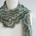 Vintage Crocheted Scarf pattern