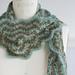 Vintage Crocheted Scarf pattern