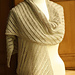Diagonal Lace Linen Scarf or Wrap pattern
