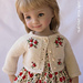 Classic Cardigan Effner Little Darling dolls pattern