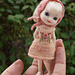 "Sweater Dress 4"" Amelia Thimble doll BJD pattern"