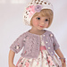 Lace Cardigan Dianna Effner Little Darling dolls pattern