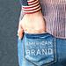 Americana Wrist Cuff pattern
