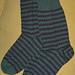 Positive Negative Socks pattern