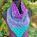 Divine Lotus Triangle Cowl pattern