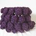 Crochet Bobble Cowl pattern