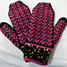 Hearts for my Tween Mitten pattern