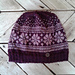 Flower fair isle hat pattern