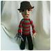 Freddy Krueger Doll pattern