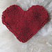 heart washcloth pattern