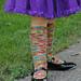 Double Dutch Children's Socks pattern