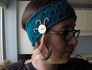 flapper eyelet headband