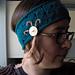 Flapper Eyelet Headband pattern