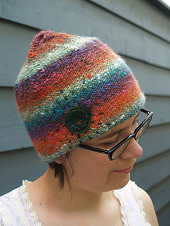 mountain sunset inside out hat