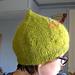 Root Vegetable Hat pattern