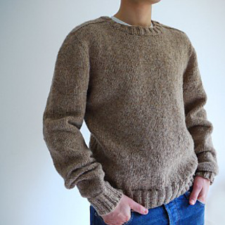 Ravelry: Top down Seamless Men's Saddle Shoulder Sweater
