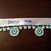 Turkish Oya Bead Crochet- Daisy Edging pattern