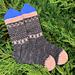 MKAL Winterwonderland Sock pattern