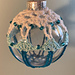 Dazzle Teal Ornament pattern