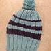 A Good Ribbing His & Hers Hats pattern