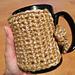 Simply Sweet Mug Hug pattern