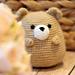 Waffle the Chubby Bear pattern