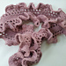 Easy Frilly Ruffle Scarf pattern