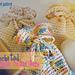 Crocheted Soap Sacks pattern