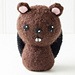 Felted Knit Amigurumi Beaver pattern