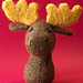 Felted Knit Amigurumi Moose pattern