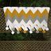 Single Crochet Chevron Blanket pattern