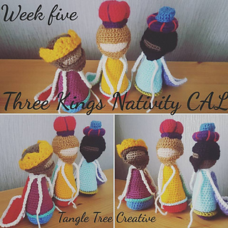 Amigurumi Crochet Step by Step – Nativity scene amigurumi part 3 ... | 320x320