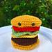 Amigurumi Cheeseburger pattern