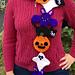 Kawaii Halloween Scarf pattern