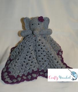 Elephant Lovey --- FREE CROCHET PATTERN | Crochet lovey, Crochet ... | 320x271