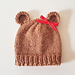 Easy Chunky Baby Bear Hat pattern